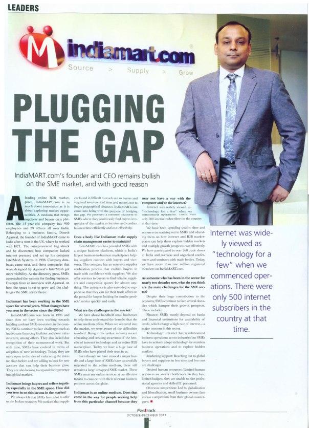 pluging the gap