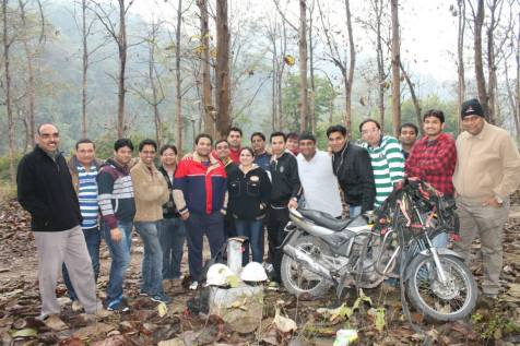 Team Building @ Jim Corbett