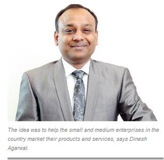 Dinesh Agarwal built a Rs 200-crore firm IndiaMart