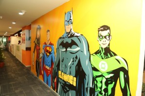 Yes, we are batman fans too. Sometimes, we act like one!