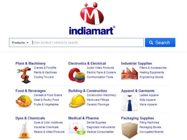 IndiaMART Website