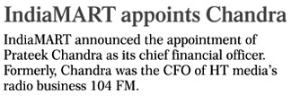 Financial Chronicle_July 9th 2015- coverage