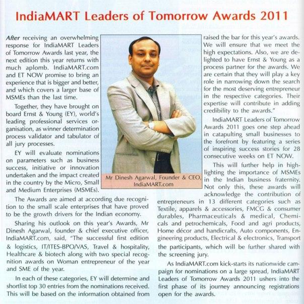 IndiaMART Leaders of Tomorrow