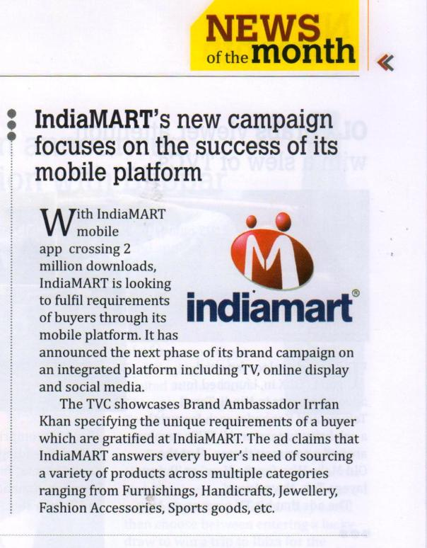IndiaMART Pitch Magazine