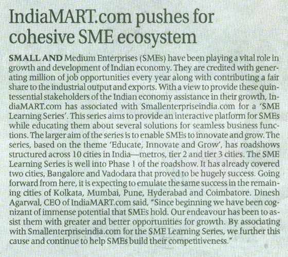 IndiaMART Pushes