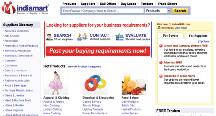 Indiamart Screenshot