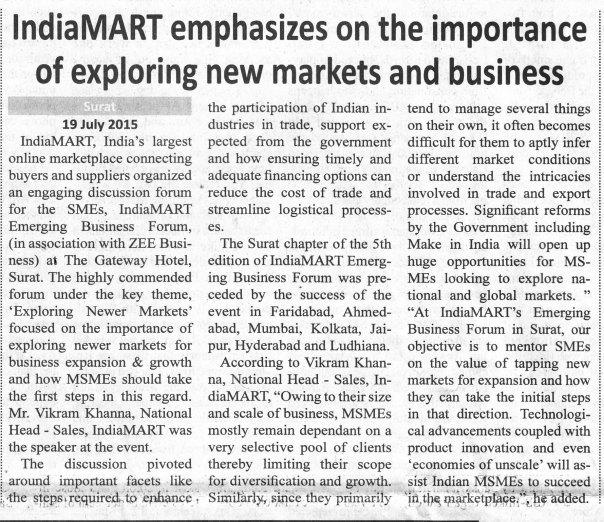 The National Dawn_Surat_IndiaMART.com - EBF_20.07.15_Pg03