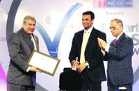 "Dr Vivek Desai, MD, Hosmac received 'Leaders of Tomorrow Award – 2011"""