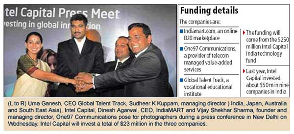 Intel Capital invests