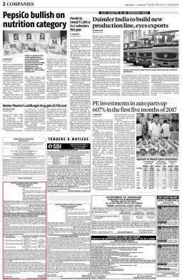 Business Standard News paper June 11, 2017 (1)-page-001